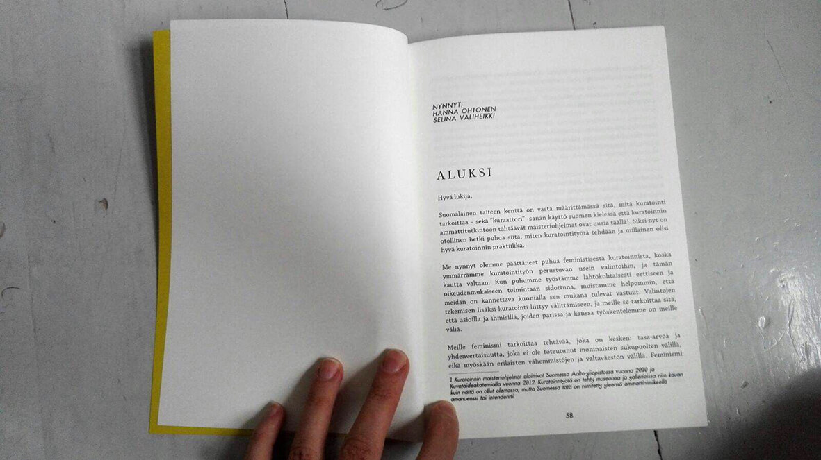 A spread from the publication